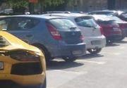 Cum si-a parcat bolidul de lux un milionar roman. Imagini virale pe Facebook