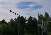 S-a facut gaura in cer. Fenomenul bizar care a uimit pe toata lumea, ce spun meteorologii FOTO