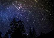 Curentul de meteori Perseide va inregistra un maxim in noaptea de 12 spre 13 august