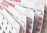 Record de zile libere pentru romani, in 2017! Cand vom avea urmatoarea minivacanta