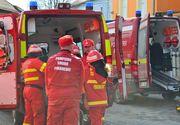 Aproximativ 50 de locatari ai unui bloc din Sibiu, evacuati in urma unui incendiu. Mai multi oameni au facut atacuri de panica