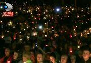 """Emotionant! Zeci de mii de pelerini au cantat """"Doamne miluieste"""", la manastirea Nicula: """"Ce se intampla aici este extraordinar"""""""