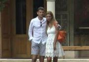 Cristian Boureanu, surprins alaturi de iubita la biserica dupa ce a fost eliberat sub control judiciar