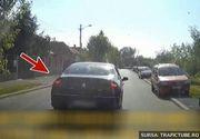 Imagini halucinante. Sicanare in trafic cu pumni si injuraturi, la Cluj