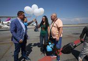 Pasagerul cu numarul un milion din acest an, sarbatorit pe Aeroportul Timisoara