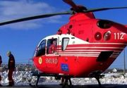 Interventie a salvamontistilor in cazul a doua femei care s-au accidentat in Muntii Fagaras; una dintre victime, preluata de un elicopter SMURD