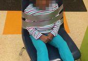 Fetita de 4 ani, legata de un scaun cu banda adeziva! Parintii s-au ingrozit cand au aflat ce se intampla la gradinita