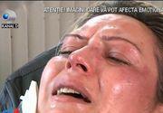 Imagini socante in centrul Timisoarei. O femeie a fost calcata in picioare, pentru ca n-a vrut sa isi vanda casa. Politia nu poate face nimic, pentru ca agresorii fac parte din clanul Carpaci