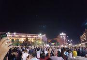 Peste 3.000 de oameni au manifestat in Piata Victoriei, fata de modificarile din justitie, anuntate de Tudorel Toader