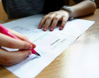 Examenul de Bacalaureat continua luni cu probele de evaluare a competentelor de...