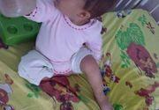 Un copil mic, ud care cere mancare. Imagini dureroase surprinse la Spitalul de Pediatrie Sibiu