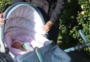 Scandal de proportii in Danemarca, dupa ce o romanca a furat un carucior cu tot cu bebelus