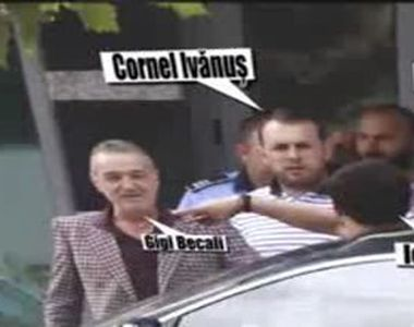 Gigi Becali, audiat de politisti la Sectia 2. A fost condus la masina de anchetator in...