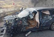 Trafic ingreunat pe Valea Oltului, duminica dupa amiaza in urma unui accident rutier in care cinci persoane au fost ranite
