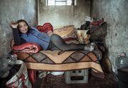 Povestea dramatica din spatele acestei fotografii. Florentina traieste din prostitutie, are patru copii si toti i-au fost luati de Protectia Copilului