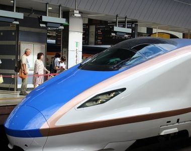"""Ce i s-a intamplat unui roman intr-un tren din Japonia. """"Controloarea a ingenuncheat..."""