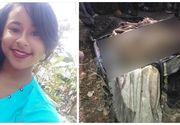 Cadavrul unei tinere de 16 ani, insarcinata in luna a 5-a, a fost gasit intr-o valiza aruncata la gunoi