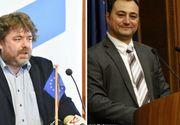 Bataie intre politicieni romani la TV. Mirel Palada, fostul purtator de cuvant al Guvernului,  l-a lovit cu pumnul pe Mihai Gotiu, vicepresedinte a Senatului