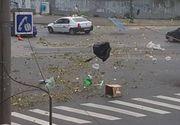 """Furtuna violenta la Timisoara. Doi oameni au murit in urma """"uraganului"""", iar alti 12 au fost raniti. Imaginile groazei"""