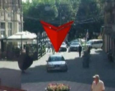 Panica in Timisoara. Doi indivizi au intrat cu masina in zona pietonala din Timisoara:...
