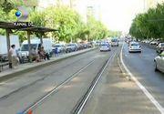Primaria Capitalei va ridica garduri din otel pe marginea liniilor de tramvai