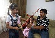 Istoria nefericita a familiei Busuioc. Maria a cantat cu speranta ca isi va aduce tatal acasa