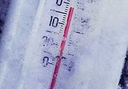 Temperaturi de iarna la Miercurea Ciuc