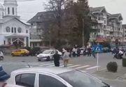 Bataie cu topoare si bate intre zeci de persoane in Arges. Politistii au intervenit cu focuri de arma