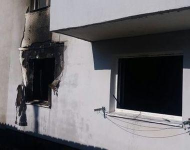 Incediu intr-un bloc din judetul Sibiu, 16 persoane fiind evacuate din cauza fumului