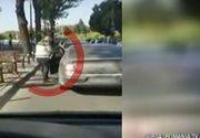 Cea mai violenta bataie, din trafic, din Bucuresti! Un adevarat macel are loc in strada