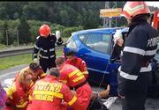 Galati: Gravida ranita, dupa ce masina pe care o conducea a fost lovita de o ambulanta al carei sofer era beat