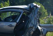 Un mort si patru raniti in urma unui accident rutier petrecut in judetul Sibiu