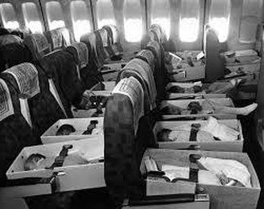 Peste 2.500 de copii, pusi in cutii si transportati cu avionul. Ce s-a intamplat cu ei...