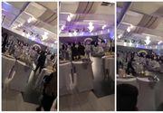 Bataie GENERALA la o nunta de romani in Frankfurt! Invitatii au aruncat cu tot ce le-a venit la mana!
