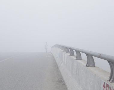Avertizari cod galben de ceata pentru trei judete. Pe autostrada Sibiu - Deva este...
