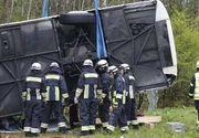 Accident mortal in Vrancea! O dubita si un autocar, plin cu 40 de oameni, s-au ciocnit - O persoana a murit