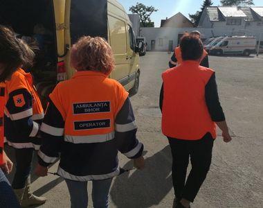 Caz cutremurator in Bihor! Noua copii au fost gasiti de un echipaj al Ambulantei...