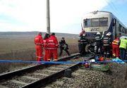 Un batran a murit  dupa ce a fost lovit de tren! A fost aruncat la cativa metri distanta