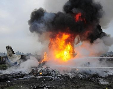 Accident aviatic in Spania. Un avion s-a prabusit imediat dupa decolare. Autoritatile...