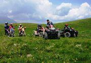 Turistii care merg sa se distreze la munca fac dezastru cu ATV-urile si motocicletele! Administratia unei comune din Muntii Cindrel le vine de hac petrecaretilor