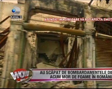 Au scapat de bombardamentele din Siria, dar acum mor de foame in Romania! Marturisirile...