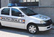 Moarte suspecta! O masina de politie din Valcea a trecut peste o persoana intinsa pe sosea