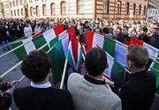 Legea privind consacrarea zilei de 15 martie ca sarbatoare a comunitatii maghiare din Romania, la vot final in Senat