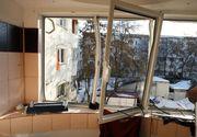 """Explozie puternica intr-un bloc din Capitala: """"Ne-a zguduit puternic"""""""