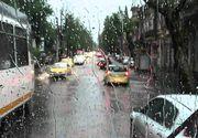 Ploaia a blocat iar Bucurestiul: Trafic de cosmar pe mai multe artere din Bucuresti