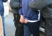 Tanar eliberat recent din penitenciar, prins de politistii din Capitala cu focuri de arma, dupa comiterea unui furt