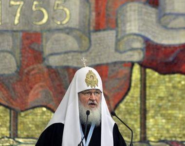 Patriarhul Kirill al Moscovei a ajuns la Bucuresti, cu ocazia ceremoniilor dedicate...