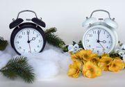 Romania trece la ora de iarna. Ceasurile se dau inapoi cu o ora in noaptea de sambata spre duminica