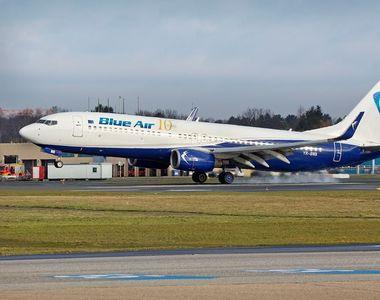O aeronava Blue Air Bucuresti-Stuttgart a aterizat la Budapesta, din cauza unei...