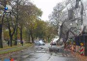 Stare de alerta! Ciclonul care a ucis 6 oameni in Europa a ajuns in Romania